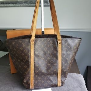 Authentic Louis Vuitton Sac Shopping Tote